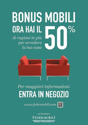 Incentivi bonus mobili for Incentivi mobili 2016